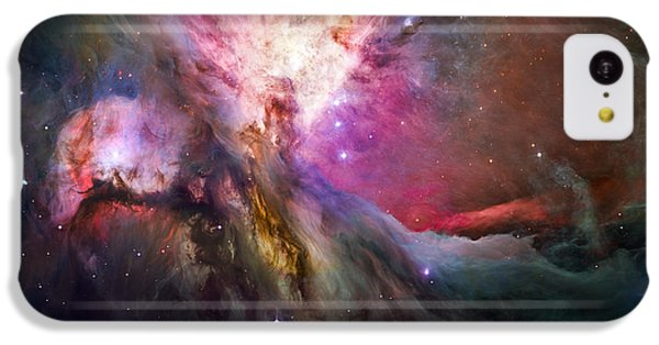 Hubble's Sharpest View Of The Orion Nebula IPhone 5c Case by Adam Romanowicz