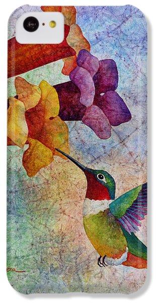 Humming Bird iPhone 5c Case - Hummer Time by Hailey E Herrera