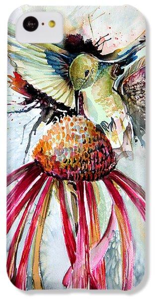 Humming Bird iPhone 5c Case - Humming Bird by Mindy Newman