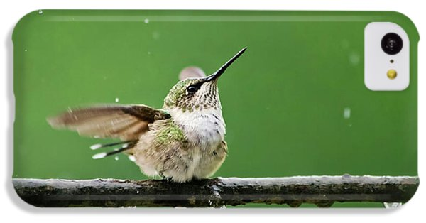 Hummingbird In The Rain IPhone 5c Case