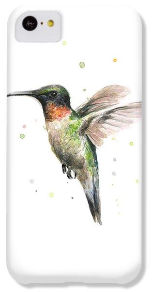 Hummingbird IPhone 5c Case by Olga Shvartsur