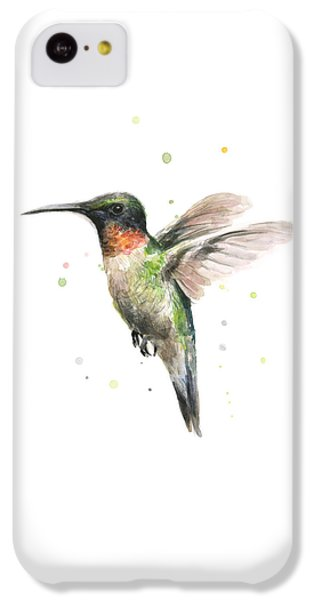 Hummingbird IPhone 5c Case