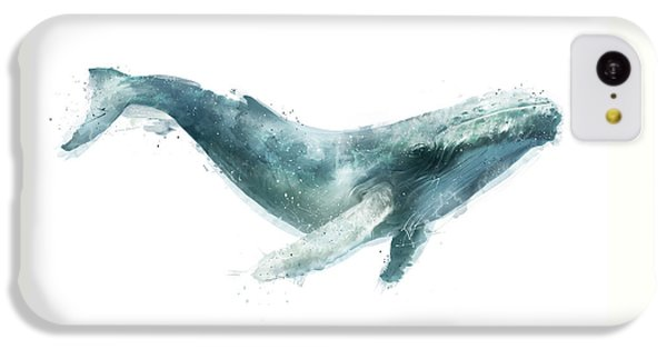 Humpback Whale From Whales Chart IPhone 5c Case by Amy Hamilton