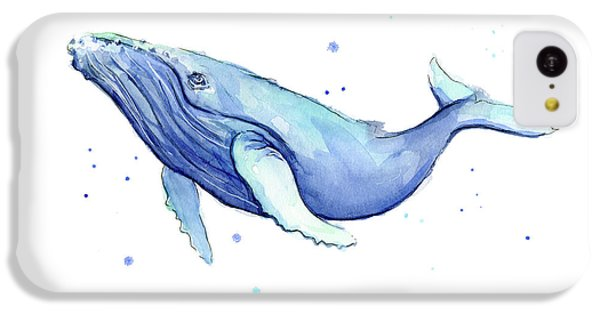 Humpback Whale Watercolor IPhone 5c Case