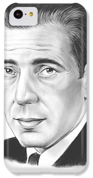 Falcon iPhone 5c Case - Humphrey Bogart by Greg Joens