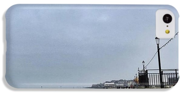 iPhone 5c Case - Hunstanton At 4pm Yesterday As The by John Edwards