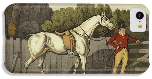Horse iPhone 5c Case - Hunter by Henry Thomas Alken