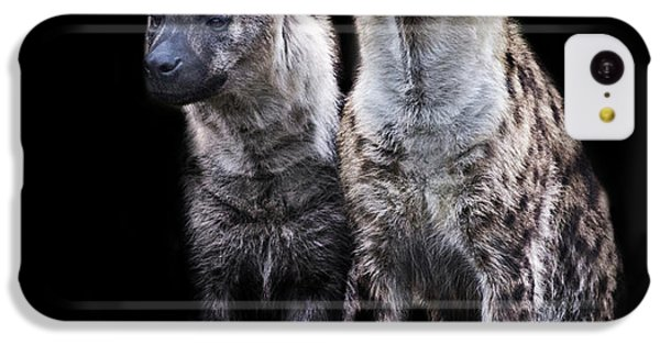 Griffon iPhone 5c Case - Hyena Lookout by Martin Newman