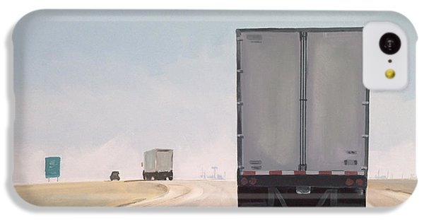 Truck iPhone 5c Case - I-55 North 9am by Jeffrey Bess