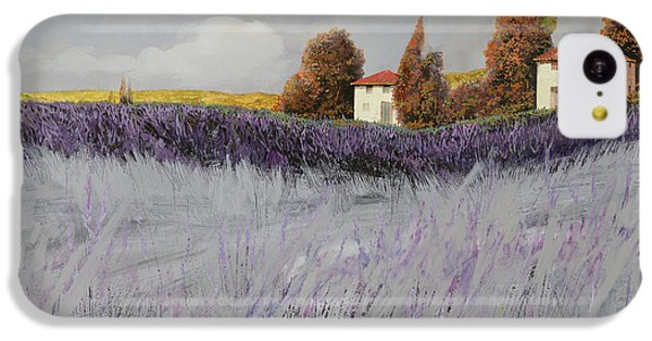 Rural Scenes iPhone 5c Case - I Campi Di Lavanda by Guido Borelli