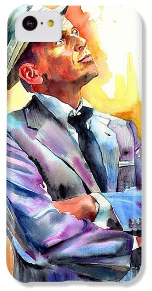 Frank Sinatra iPhone 5c Case - I Did It My Way by Suzann's Art