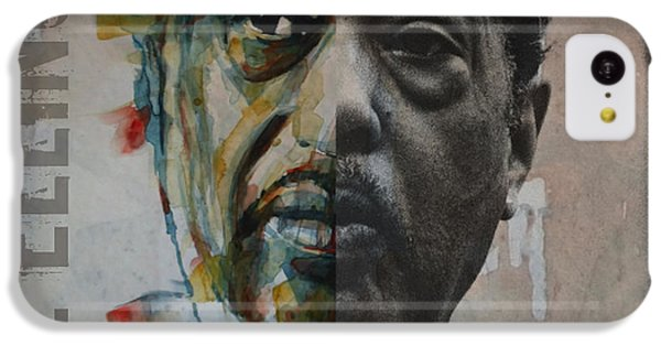 Duke iPhone 5c Case - I Got It Bad And That Ain't Good by Paul Lovering