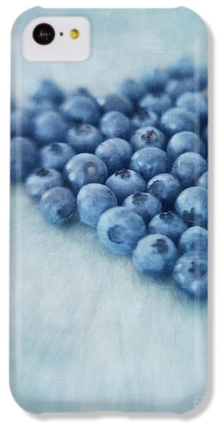 I Love Blueberries IPhone 5c Case by Priska Wettstein