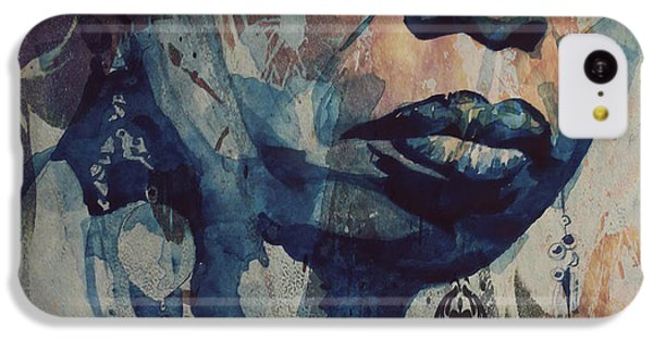 Rhythm And Blues iPhone 5c Case - I Wish I Knew How It Would Be  Feel To Be Free by Paul Lovering