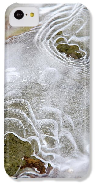 IPhone 5c Case featuring the photograph Ice Abstract by Christina Rollo