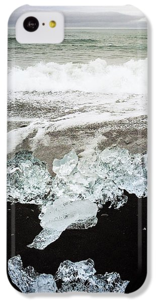 Cool iPhone 5c Case - Ice In Iceland by Matthias Hauser