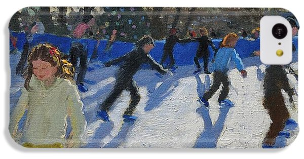 Ice Skaters At Christmas Fayre In Hyde Park  London IPhone 5c Case