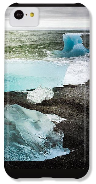 Cool iPhone 5c Case - Iceberg Pieces Jokulsarlon Iceland by Matthias Hauser