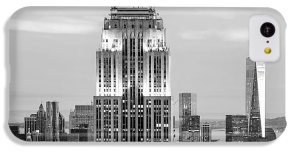 Empire State Building iPhone 5c Case - Iconic Skyscrapers by Az Jackson