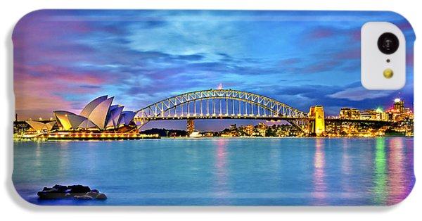 Icons Of Sydney Harbour IPhone 5c Case by Az Jackson