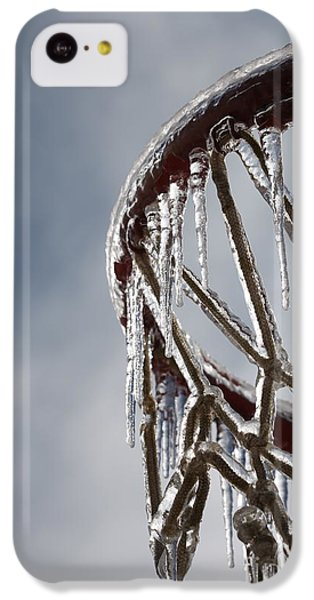 Icy Hoops IPhone 5c Case by Nadine Rippelmeyer
