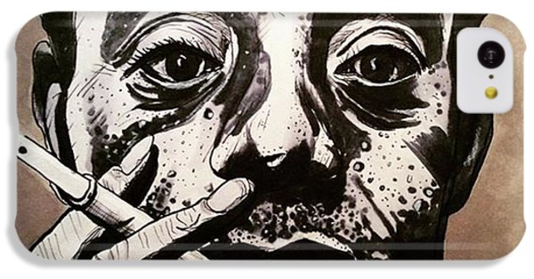 iPhone 5c Case - James Baldwin by Russell Boyle
