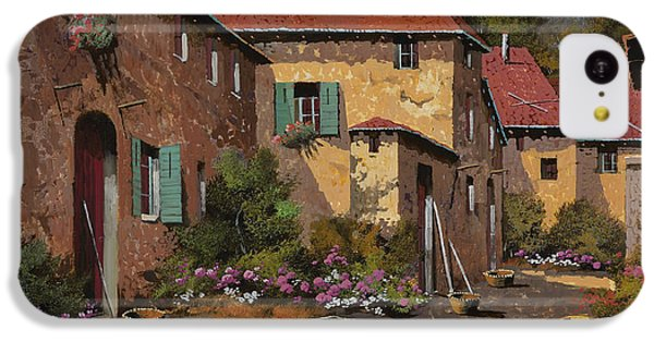 Rural Scenes iPhone 5c Case - Il Carretto by Guido Borelli