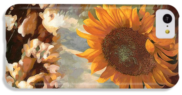 Sunflower iPhone 5c Case - Il Girasole by Guido Borelli