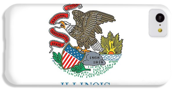 Illinois State Flag IPhone 5c Case by American School
