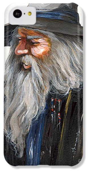 Impressionist Wizard IPhone 5c Case by J W Baker