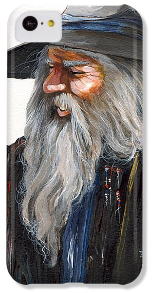Wizard iPhone 5c Case - Impressionist Wizard by J W Baker