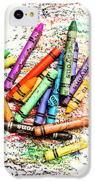 In Colours Of Broken Crayons IPhone 5c Case by Jorgo Photography - Wall Art Gallery