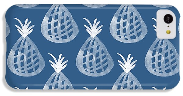 Indigo Pineapple Party IPhone 5c Case