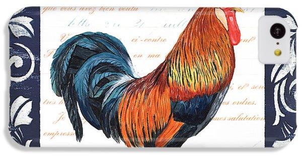 Indigo Rooster 1 IPhone 5c Case by Debbie DeWitt