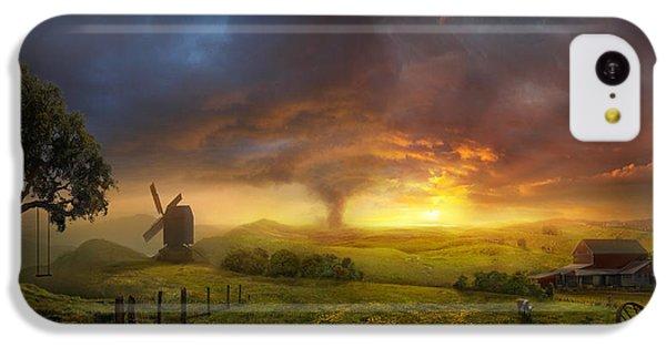 Wizard iPhone 5c Case - Infinite Oz by Philip Straub