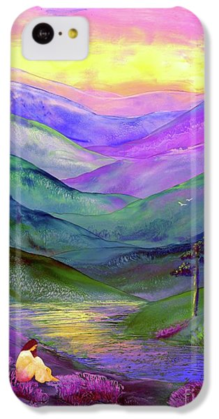 Figurative iPhone 5c Case - Inner Flame, Meditation by Jane Small