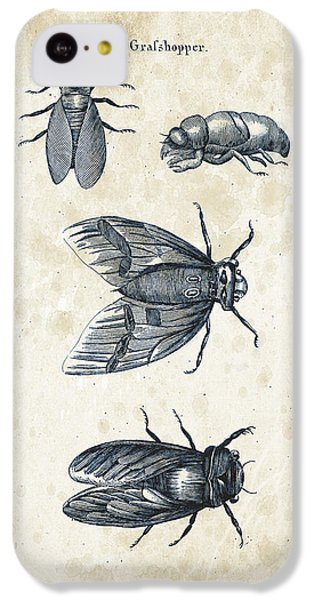 Insects - 1792 - 07 IPhone 5c Case by Aged Pixel