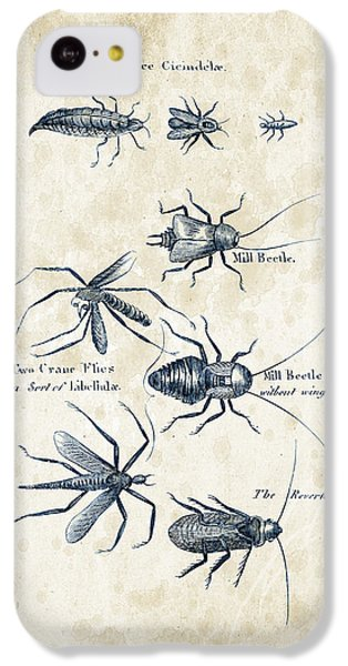 Insects - 1792 - 10 IPhone 5c Case by Aged Pixel