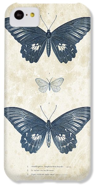 Insects - 1832 - 01 IPhone 5c Case by Aged Pixel