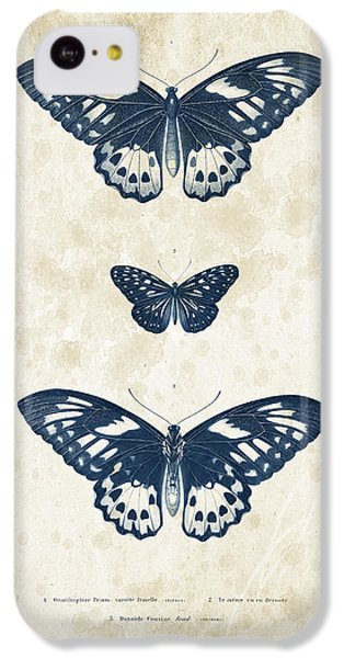 Insects - 1832 - 04 IPhone 5c Case by Aged Pixel