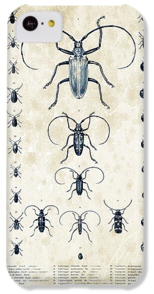 Insects - 1832 - 08 IPhone 5c Case by Aged Pixel