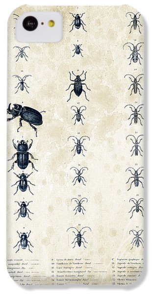 Insects - 1832 - 09 IPhone 5c Case by Aged Pixel