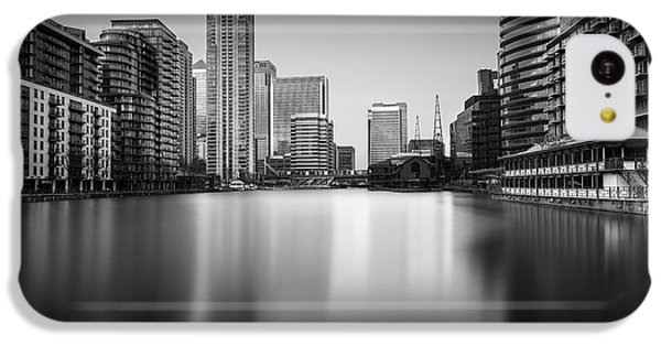 Inside Canary Wharf IPhone 5c Case by Ivo Kerssemakers