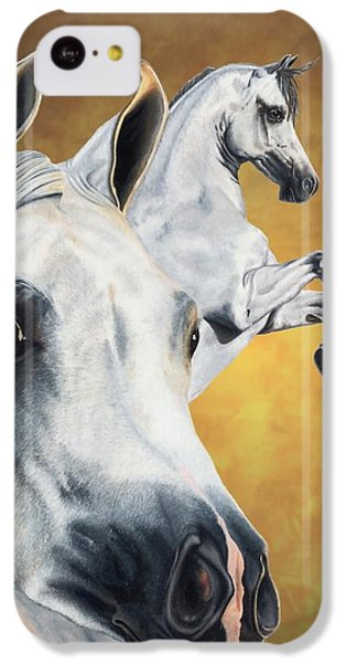 Horse iPhone 5c Case - Inspiration by Kristen Wesch