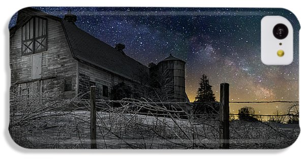 IPhone 5c Case featuring the photograph Interstellar Farm by Bill Wakeley
