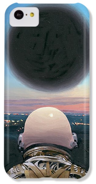 IPhone 5c Case featuring the painting Into The Void by Scott Listfield