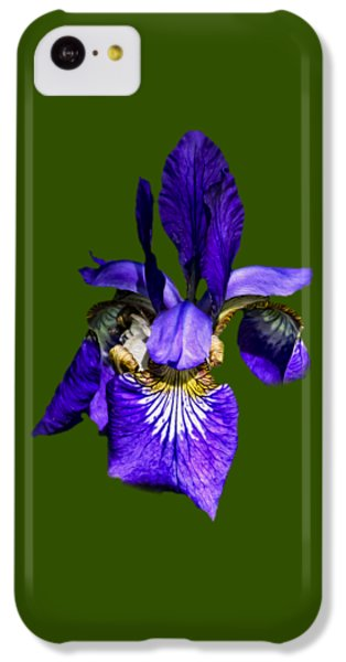 IPhone 5c Case featuring the photograph Iris Versicolor by Mark Myhaver