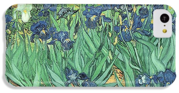 Irises IPhone 5c Case by Vincent Van Gogh