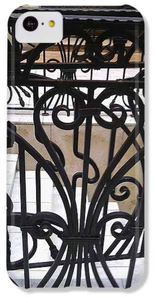 Iron Decorative Heart IPhone 5c Case by Anamarija Marinovic