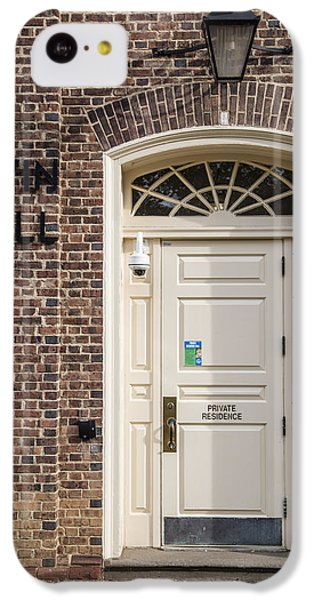 Irvin Hall Penn State  IPhone 5c Case by John McGraw